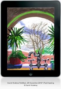 David Hockney, 'untitled' 26 December 2010, ipad drawing